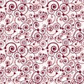 Seamless swirl pattern Royalty Free Stock Photo