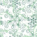 Seamless swirl pattern Stock Photo