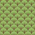 Seamless symbolic forest pattern texture vector art Stock Image