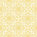 Seamless symmetric yellow pattern