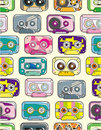 Seamless tape pattern Stock Images