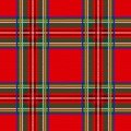 Seamless tartan pattern background plaid. Christmas decoration, scottish ornament. Royalty Free Stock Photo