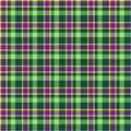 Seamless tartan pattern ill Stock Photo