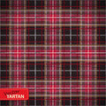 Seamless tartan pattern illustration of vector Stock Photos