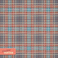 Seamless tartan pattern vector illustration of Stock Image
