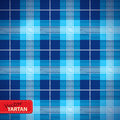 Seamless tartan pattern vector illustration of Royalty Free Stock Images