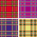 Seamless tartan plaid Stock Photography