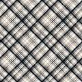 Lumberjack plaid pattern. Seamless vector background. Simple vintage textile design