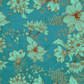 Seamless tender floral background Royalty Free Stock Photos