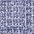 Seamless textile abstract pattern of white contour lines on a purple background. Vector ornament on for fabric, carpet and