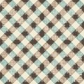 Seamless textile quilt pattern geometric Royalty Free Stock Image