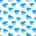 Seamless texture background of blue gift wrap boxes, pattern Stock Image