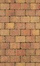 Seamless texture of brick wall brown Stock Images