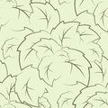 Seamless texture of the foliage Royalty Free Stock Photo