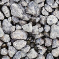 Seamless texture - gray stones Stock Photos