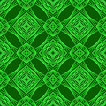 Seamless Texture on Green Background