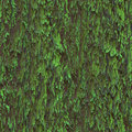 Seamless texture hanging down worn-out ripped rags cloth or paper