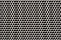 Seamless texture iron speaker grid background close up Stock Images
