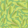 Seamless texture with maple plant motif Royalty Free Stock Images