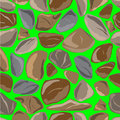 Seamless texture of pebble Stock Photography