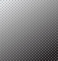 Seamless texture. Relief metal surface. Vector. Royalty Free Stock Images