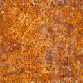 Seamless texture of rusty metal surface. Grunge photographic pat Royalty Free Stock Photo