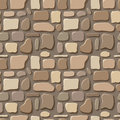 Seamless texture of stone wall beige and brown Stock Image