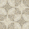 Seamless texture with stones place in circular pattern.