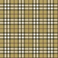 Seamless textured tartan plaid Royalty Free Stock Photo