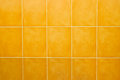 Seamless tile background orange on bathroom Royalty Free Stock Image