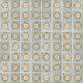 Seamless tile pattern of ancient ceramic tiles Stock Image
