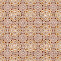 Seamless tile pattern of ancient ceramic tiles Royalty Free Stock Image