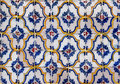 Seamless tile pattern of antique tiles anyique this is meaning you can create an arbitrary image size by simply Stock Image