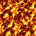 Seamless tile pattern of blazing hot lava Stock Image