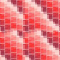 Seamless tile pattern red wallpaper also suitable as material Royalty Free Stock Photo