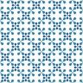 Seamless tiles geometric pattern Royalty Free Stock Photo