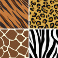 Seamless tiling animal print p Royalty Free Stock Photo