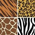 Seamless tiling animal print p
