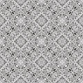 Seamless tiling floral wallpaper pattern Stock Image