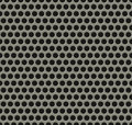 Seamless tiling metal grill pattern Stock Photo