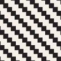 Seamless tracery pattern. Repeated stylized lattice. Symmetric geometric wallpaper. Trellis ethnic motif. Vector Royalty Free Stock Photo