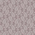 Seamless traditional Indian bandanna pattern