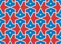 Seamless traditional islamic vector pattern -girih Royalty Free Stock Photo
