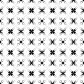 Seamless transparent crisscross pattern. Royalty Free Stock Photo