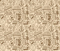 Seamless travel pattern Royalty Free Stock Images