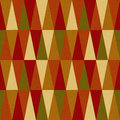 Seamless triangle pattern on paper texture Stock Photography
