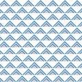 Seamless triangle pop art pattern vector