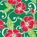 Seamless Tropical Holiday Pattern Royalty Free Stock Photography