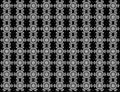 Seamless turbine snowflakes pattern on background.