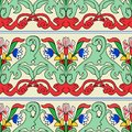 Seamless Turkish colorful pattern. Vintage multicolor pattern in Eastern style. Endless floral pattern can be used for